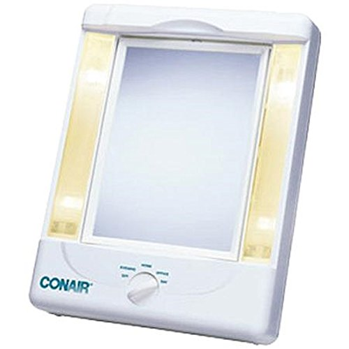 Charmax 7x Magnifying Lighted Makeup Mirror With Bag