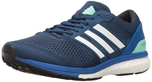 Adidas Heren Adizero Boston 6 M Hardloopschoenen Mystery Blue / Dark Navy / Satellite