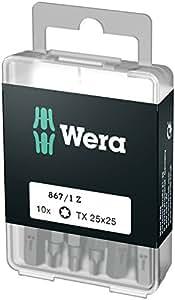 867/1 DIY Puntas TORX, TX 25 x 25 mm (10 Bits pro Box)