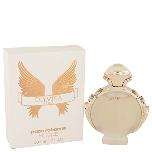 Olympea Aqua by Paco Rabanne Eau De Toilette Spray 1.7 oz (Hombres Rabanne Perfumes Paco)