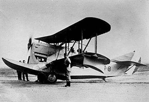 Laminated Poster A U.S. Navy Loening Ol/oa-1A amphibian, 1923