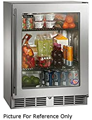Perlick HD24RS 23 7 8 W Undercounter Reach In Shallow Depth Refrigerator