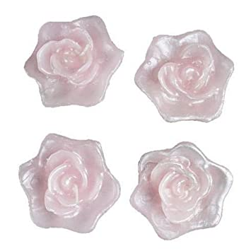 Amazon 12 Roses Flowers Floating Candles For Wedding