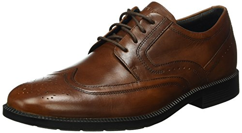 Rockport Herren Dressports Modern Wing Tip Derby Braun (New Brown Lea)