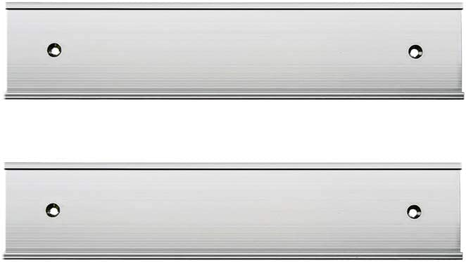 Nameplate Holder Wall or Door 2 Pack (2