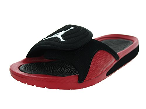 Nike Jordan Kids Jordan Hydro 4 Bg Black/White/Gym Red Sandal 5 Kids US