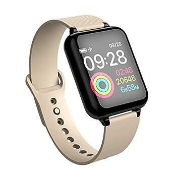 B57 - Reloj Inteligente para Mujer y Hombre, Resistente al ...
