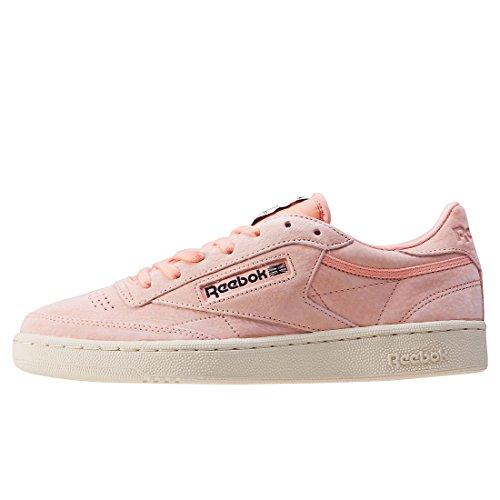 Pastels C Sneaker Reebok Multicolore Bambina Club 85 Rosa qxTXXPt