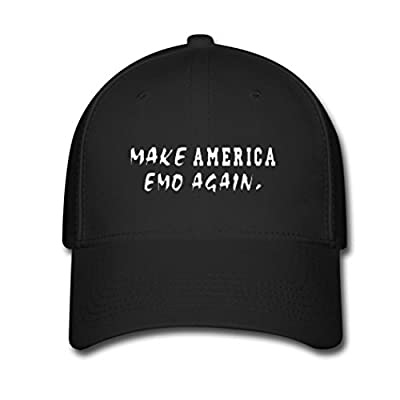 Kaho Popular Unisex Baseball Cap Adjustable Hat Make America EMO Again