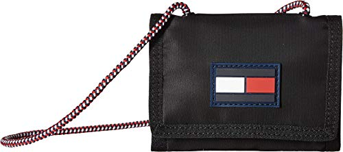 Tommy Hilfiger Leah Trifold Wallet Black One Size