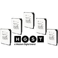 HGST 5-Pack Hitachi Ultrastar 7K6000 HUS726040ALA610 0F23090 4TB 7200 RPM 3.5-Inch SATA HDD 512n ISE 128MB Cache