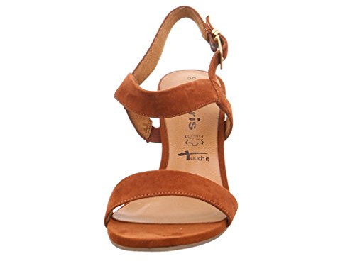 Tamaris 1-1-28321-28-339 - Sandalias de vestir de Piel para mujer 339BRANDY