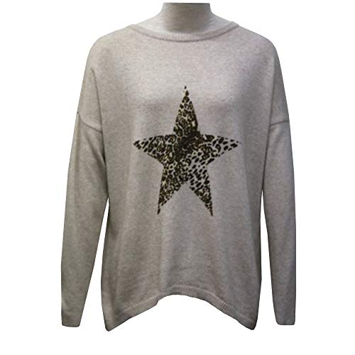 Sweater Star Luella 1 Beige Cashmere Blend aFTxwqFPE