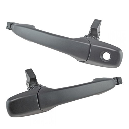 Exterior Handle Mustang Door - Exterior Outside Door Handle Smooth Driver Passenger Pair 2pc for Mustang