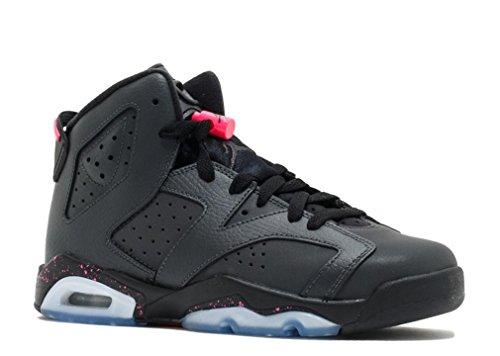 Jordan Retro 6 ''Hyper Pink'' Anthracite/Black/Hyper Pink (GS) (8.5) by Jordan