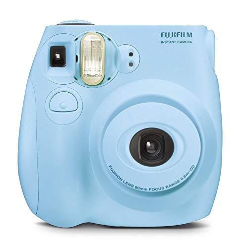 Certified Amazing – Instax Mini 9 & Instax Mini 7S Instant Camera Product Bundles   Film Pack Options   Renewed (Mini 7S Camera Only, Light Blue)