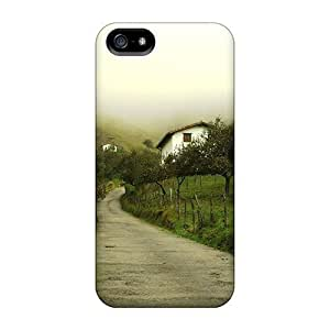 New Premium AnnetteL Houses In The Fog Skin Excellent Fitted Case For Sony Xperia Z2 D6502 D6503 D6543 L50t L50u Cover