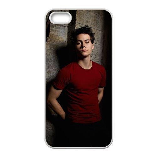 Dylan O'Brien 005 coque iPhone 4 4S Housse Blanc téléphone portable couverture de cas coque EOKXLLNCD18063