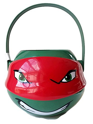 Teenage Mutant Ninja Turtles Medium Figural Plastic Bucket - Raphael