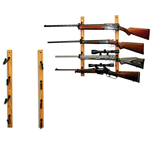 Aromzen Rifle Or Fishing Rod Wall Display Rack
