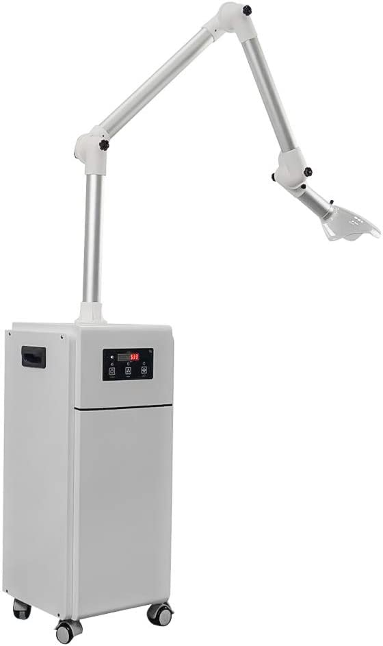 1000W Extra Oral Vaccum Suction System,Terminator Aerosol Suction,Droplets Remover,UV-C Irradiation,Plasma Sterilization,Two Filters