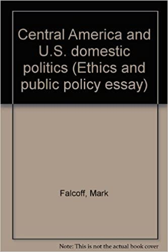 Central America And Us Domestic Politics Ethics And Public Policy  Central America And Us Domestic Politics Ethics And Public Policy Essay  Mark Falcoff  Amazoncom Books Students Assignment Help also Essays Written By High School Students  Pmr English Essay
