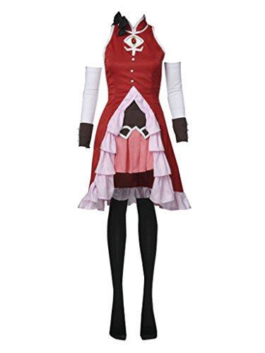 Cosfun Puella Magi Madoka Magica Sakura Kyoko Cosplay Costume mp000745 (Women M)