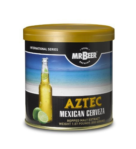 Mr. Beer Aztec Mexican Cerveza Home Breiwng Beer Refill Kit by Mr. Beer