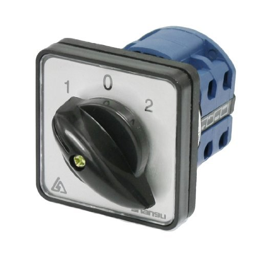 DealMux On-Off-On 8 Terminais Mudança ao longo do Controle Rotary Cam Comutador 20A 660V - - Amazon.com