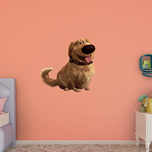 Fathead Peel and Stick Decals Disney Up Dug RealBig Collection Wall Decal