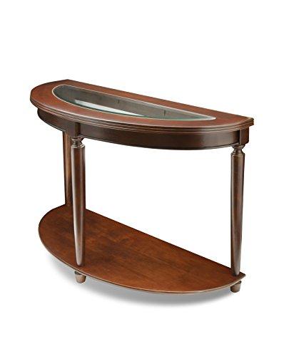 Pleasant Furniture Of America Western Beveled Glass Top Sofa Table Dark Cherry Finish Beutiful Home Inspiration Xortanetmahrainfo