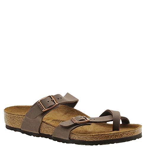 Birkenstock Kids Mayari Sandal Mocha Birkibuc Size 30 N EU / 12-12.5 N US Little Kid