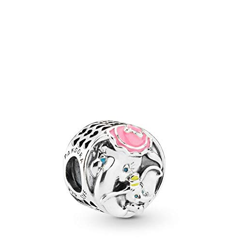 PANDORA Disney, Dumbo and Mrs. Jumbo 925 Sterling Silver Charm - 797850ENMX by PANDORA (Image #1)