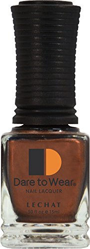 LECHAT Dare to Wear Nail Polish, Jamaican Coffee, 0.500 Ounce