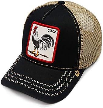 QQYZ Patrón De Abeja Bordado Gorra De Béisbol Animal Sombrero De ...