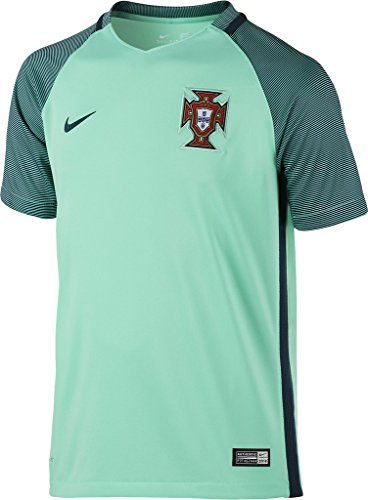 - Nike Kid's Portugal Away Stadium Soccer Jersey (Green) Youth X-Large