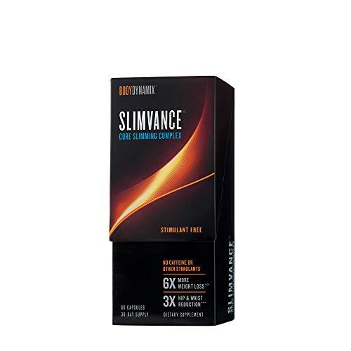 BodyDynamix Slimvance Core Slimming Complex Stimulant Free, 30 Day Supply