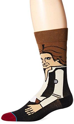 Star Wars Bounty Hunter Boba Fett Han Solo Character Mens Socks (Sock Size:10-13/Shoe Size: 6-12 9-12)