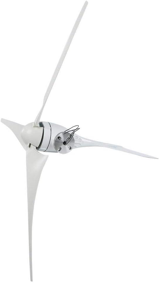 Focket Wind Turbine NE-300S3 300W DC 12V//24V High Conversion Rate Wind Turbine Generator Kit 630mm 3 Blades Charge Controller Power Windmill High Utilization for Home Power Supplementation 24V