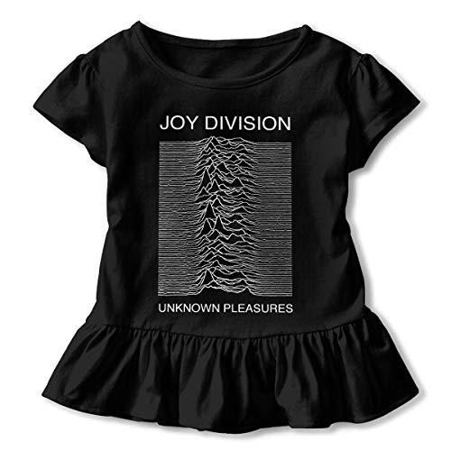Kid T Shirt Joy Division Unknown Pleasures 3D Tee Baseball Ruffle Short Sleeve Cotton Shirts Top for Girls Kids Black