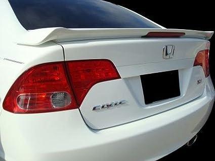 Amazon Com Honda Civic Spoiler 06 11 Sedan Factory Si Rear Wing