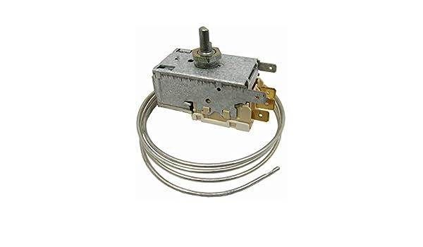 Spares2go regulador de temperatura termostato k59l para Zanussi ...
