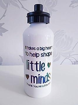 Botella de agua personalizada para profesores, botella de agua para profesores, regalo personalizado para