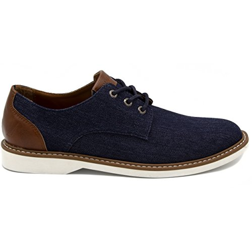 Nautica Men's Admore Oxford Shoe, Business Casual Fashion Sneaker -Admore-Navy-9.5 by Nautica (Image #1)
