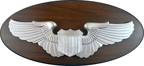 Air Force Pilot Wings Plaque