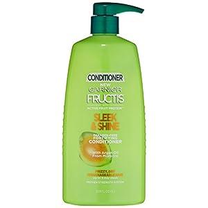 Best Epic Trends 41zZlprrTCL._SS300_ Garnier Fructis Sleek & Shine Conditioner, Frizzy, Dry, Unmanageable Hair, 33.8 fl. oz.
