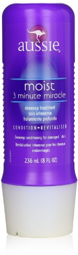 Moist 3 Minute Miracle Deep Conditioner, 8 Fluid Ounce (Pack of 6)