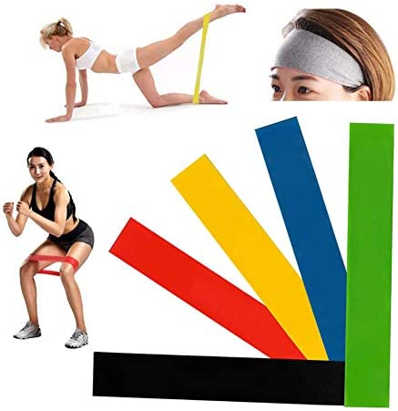 Fitness Resistance Bands for Yoga Stretch Pull Up Assist Bands Crossfit Exercise