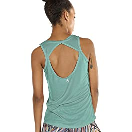 Yoga Tops Activewear Workout Clothes Open Back Fitness Tank Tops for Women