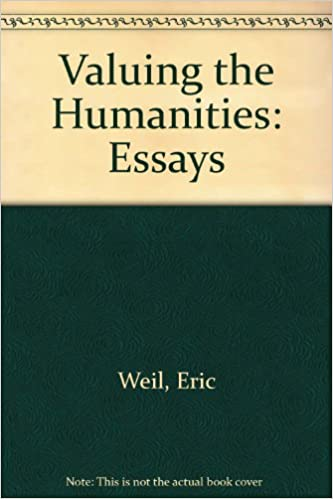 Yellow Wallpaper Essays Valuing The Humanities Essays Essays Term Papers also Example Of An Essay Proposal Amazoncom Valuing The Humanities Essays  Eric  English Narrative Essay Topics